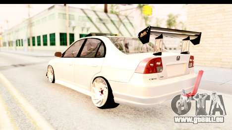 Honda Civic Vtec 2 Berkay Aksoy Tuning für GTA San Andreas rechten Ansicht