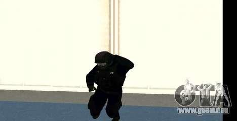 GTA 5 FIB SWAT Blue für GTA San Andreas sechsten Screenshot