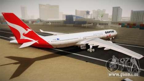 Airbus A330-300 Qantas 80 Years für GTA San Andreas linke Ansicht