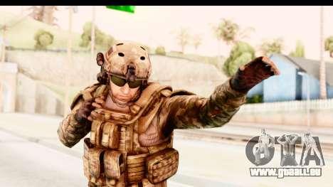 PLA American für GTA San Andreas