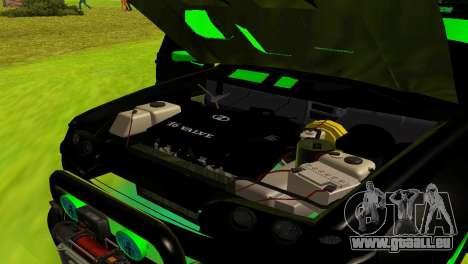 ВАЗ 2114-DTM TURBO SPORT für GTA San Andreas Seitenansicht