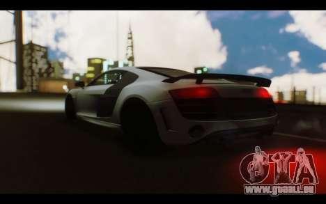 Audi R8 GT Sport 2012 pour GTA San Andreas vue de droite