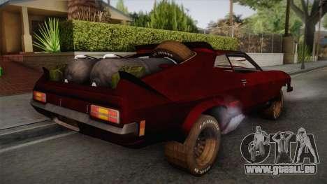 Ford Falcon XB Last V8 Mad Max 2 pour GTA San Andreas laissé vue