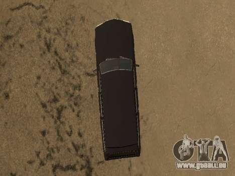 GAZ-310221 für GTA San Andreas zurück linke Ansicht