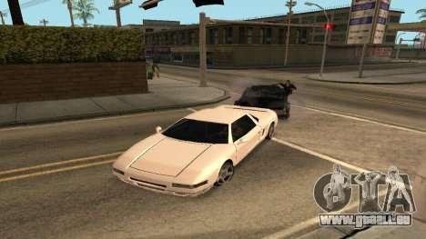 Cheetah Mod pour GTA San Andreas deuxième écran