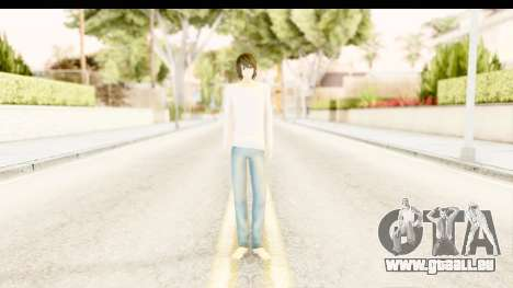L Lawliet (Death Note) für GTA San Andreas zweiten Screenshot