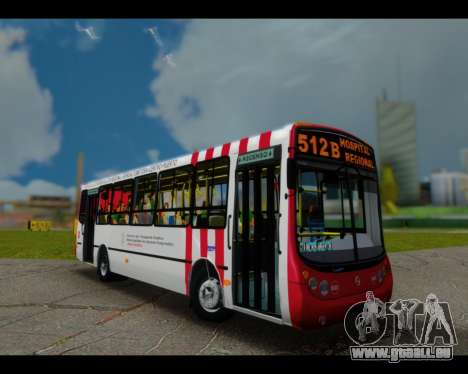 Metalpar Tronador Linie Burgundy GTA Micros Arge für GTA San Andreas