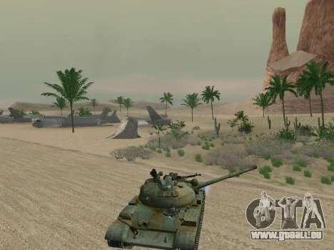 T-62 für GTA San Andreas Räder