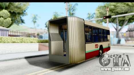 Metrobus de la Ciudad de Mexico Trailer pour GTA San Andreas