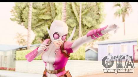 Marvel Future Fight - Gwenpool für GTA San Andreas