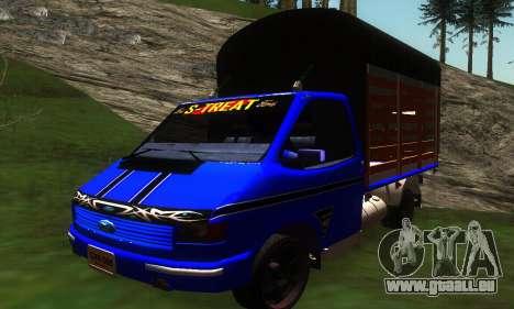 Ford Transit Stylo Colombia pour GTA San Andreas laissé vue