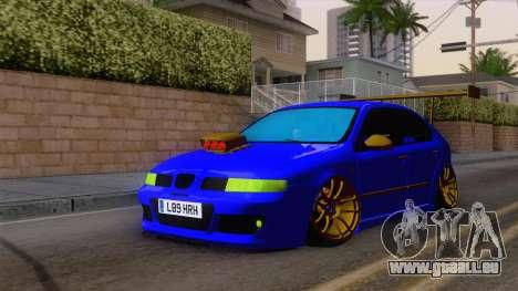 Seat Leon Haur Edition pour GTA San Andreas vue de droite