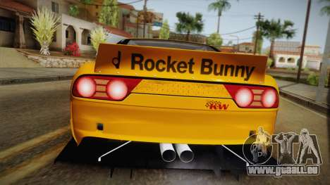 Nissan 180SX Rocket Bunny für GTA San Andreas rechten Ansicht