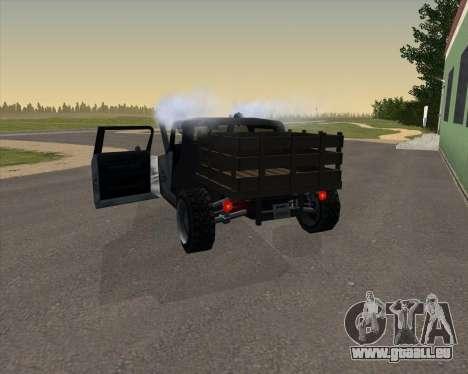 HotBaron pour GTA San Andreas sur la vue arrière gauche