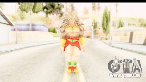 Dragon Ball Xenoverse Broly SSJ5 pour GTA San Andreas deuxième écran