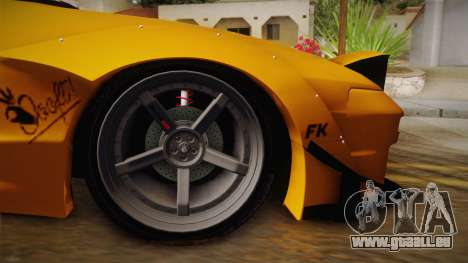 Nissan 180SX Rocket Bunny für GTA San Andreas Rückansicht