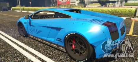 Lamborghini Gallardo Liberty Walk LB Performance pour GTA 5