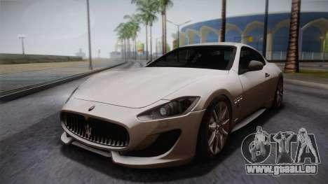 Maserati Gran Turismo Sport für GTA San Andreas