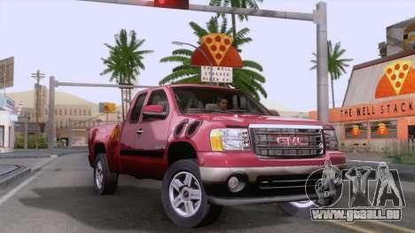 GMC Sierra 2015 pour GTA San Andreas