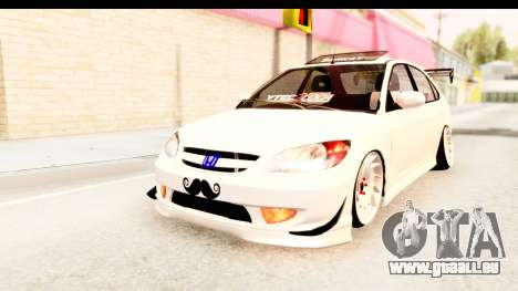 Honda Civic Vtec 2 Berkay Aksoy Tuning für GTA San Andreas
