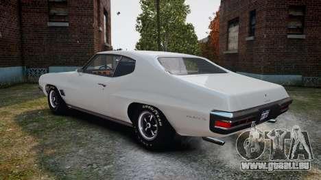 Pontiac LeMans Coupe 1971 für GTA 4 rechte Ansicht