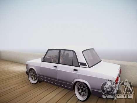 VAZ 2107 Tipo-stance pour GTA San Andreas laissé vue