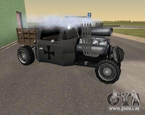 HotBaron pour GTA San Andreas laissé vue