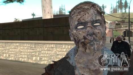 Zombie from Black Ops 3 pour GTA San Andreas troisième écran