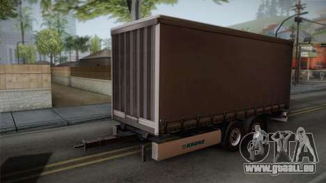 Mercedes-Benz Actros Mp4 v2.0 Tandem Trailer pour GTA San Andreas