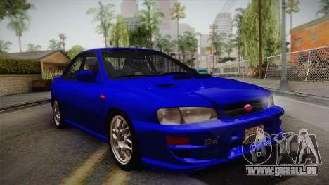 Subaru Impreza WRX STI GC8 1999 v1.0 pour GTA San Andreas