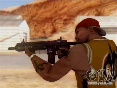 GTA 5 Vom Feuer Carbine Rifle für GTA San Andreas her Screenshot