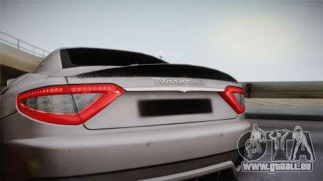 Maserati Gran Turismo Sport pour GTA San Andreas vue de droite