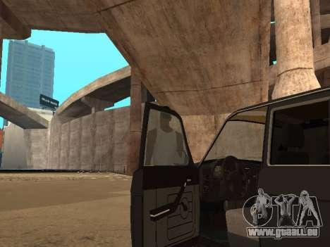 GAZ-310221 für GTA San Andreas Innenansicht