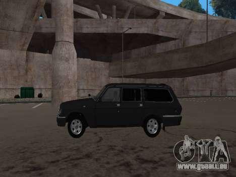 GAZ-310221 für GTA San Andreas rechten Ansicht