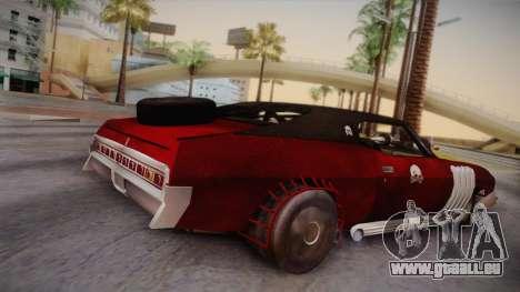 Ford Landau 1973 Mad Max 2 pour GTA San Andreas laissé vue