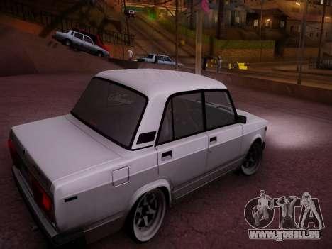 VAZ 2107 Tipo-stance pour GTA San Andreas vue de droite