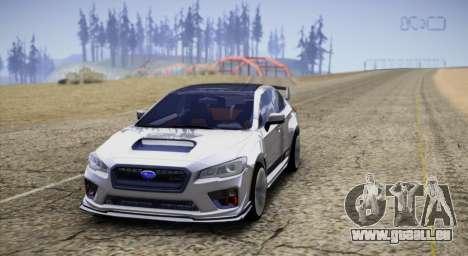 Subaru WRX STI LP400 2016 pour GTA San Andreas