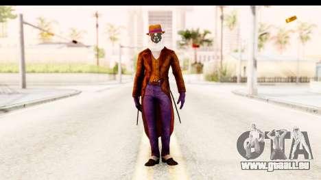 Watchman-Rorschach pour GTA San Andreas deuxième écran