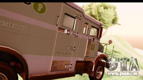 GTA 5 Stockade v2 IVF pour GTA San Andreas vue arrière