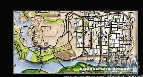Remaster Map Full Version pour GTA San Andreas deuxième écran