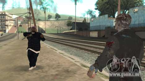 Zombie from Black Ops 3 für GTA San Andreas fünften Screenshot