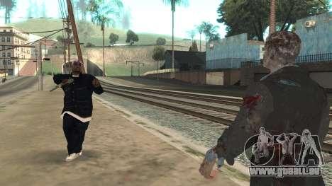Zombie from Black Ops 3 pour GTA San Andreas cinquième écran