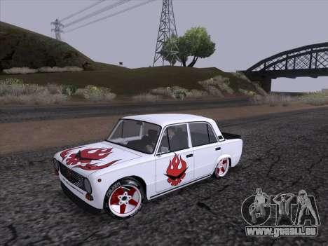 VAZ 2101 pour GTA San Andreas laissé vue