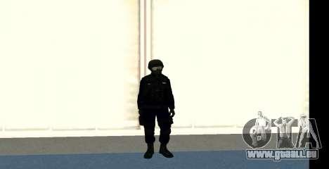 GTA 5 FIB SWAT Blue für GTA San Andreas her Screenshot