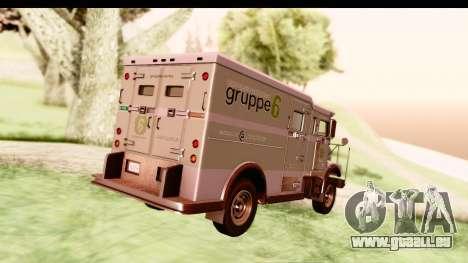 GTA 5 Stockade v2 IVF pour GTA San Andreas vue de droite
