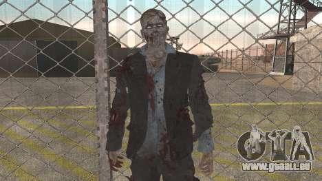 Zombie from Black Ops 3 pour GTA San Andreas deuxième écran