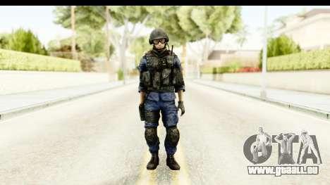 PLA Chinese pour GTA San Andreas deuxième écran