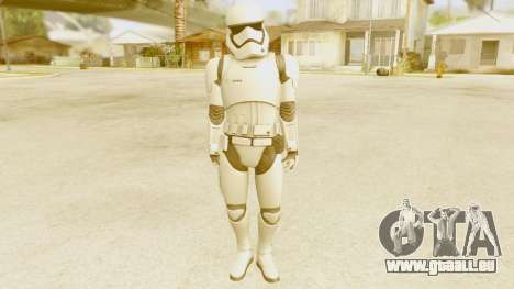 Star Wars Ep 7 First Order Trooper pour GTA San Andreas deuxième écran