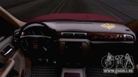 GMC Sierra 2015 pour GTA San Andreas vue arrière