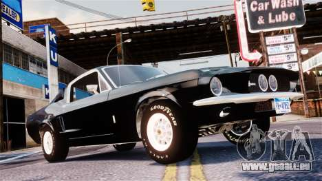 Ford Mustang Shelby GT500 1967 pour GTA 4
